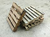 Miniature pallet coasters - set of 4