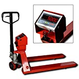 New Prime Scales PS-5000PJ Pallet Truck Scale | Pallet Jack Scale 5000x1lb Low Profile