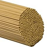 Dowel Rods Wood Sticks 1/4 Inch X 12 Inches 100 Pieces Woodpeckers Wooden Dowel Rods