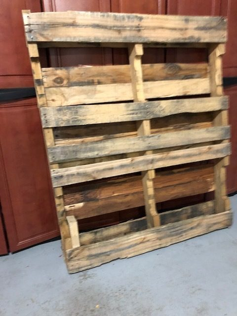 """One wood 48"""" X 40"""" Pallet Available in Indianapolis, IN ..."""