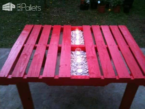 Garden Pallet Table Desks & Tables Lounges & Garden Sets