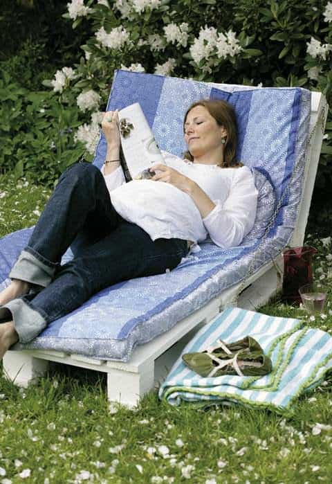Pallet Garden Lounge Chair Lounges & Garden Sets