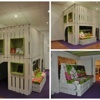 Pallet Kids House Project