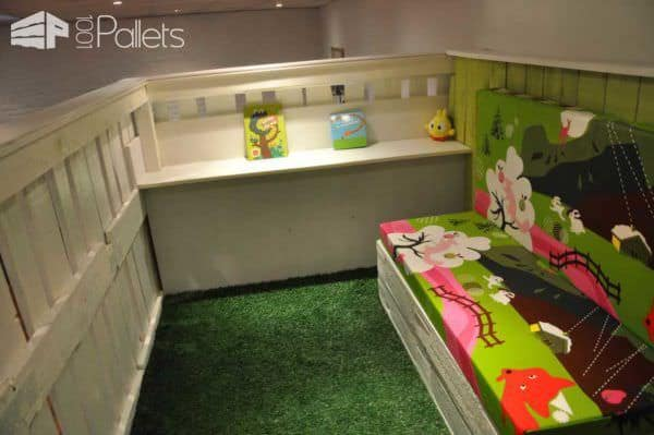 Pallet Kids House Project Fun Pallet Crafts for Kids