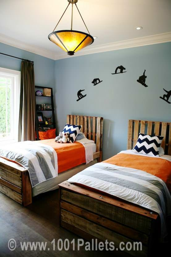 Twin Pallet Beds Beds & Headboards