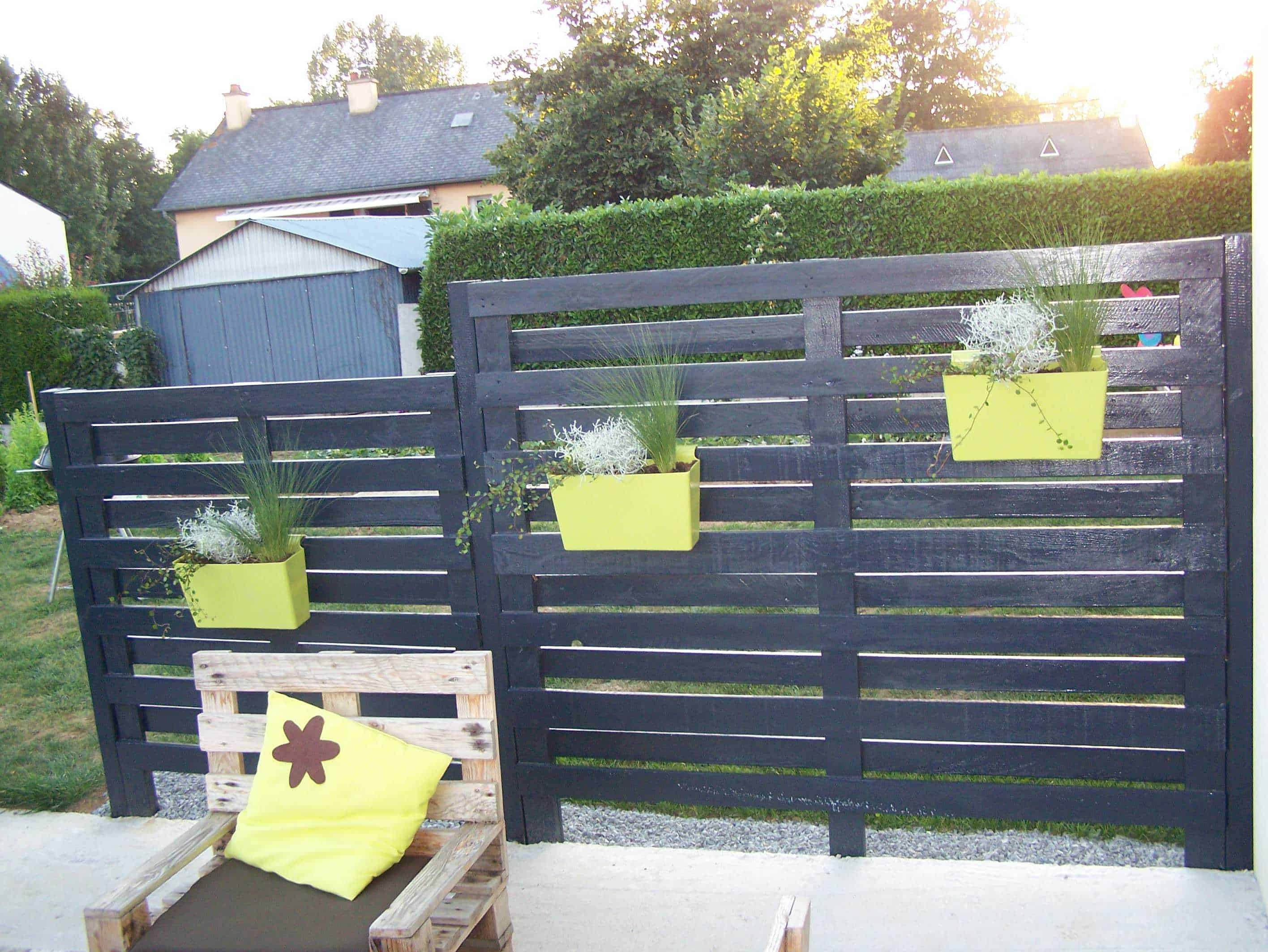 Pallets Claustra Fence Pallet Ideas 1001 Pallets