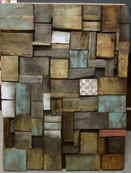 Wall Art With Wood Pallets : Wall door page of diy wood pallet projects