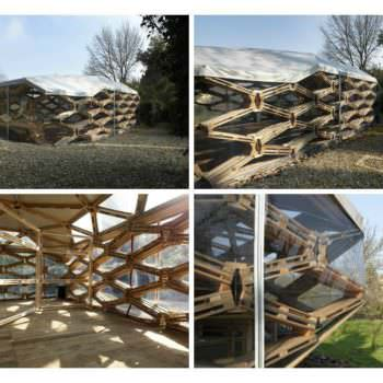 Recycled Pallet Pavilion