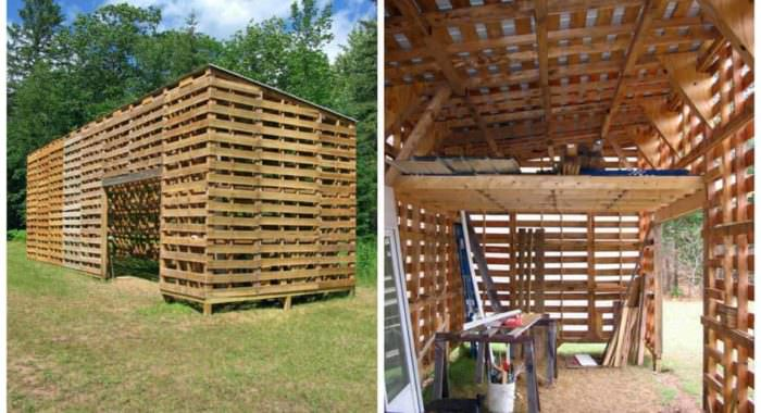 Small Shed From Used Pallets Cheap Wood 1001 Pallets