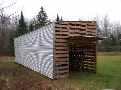 Upcycled Pallet Barn Pallet Sheds, Pallet Cabins, Pallet Huts & Pallet Playhouses