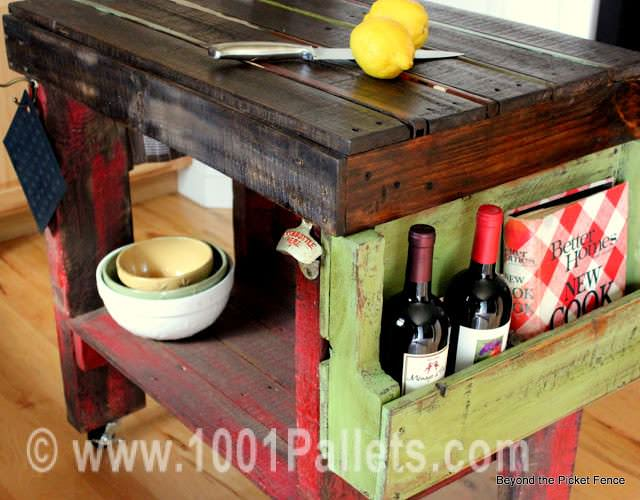 IMG 7498 Pallet island for your kitchen in kitchen furniture  with Kitchen Island
