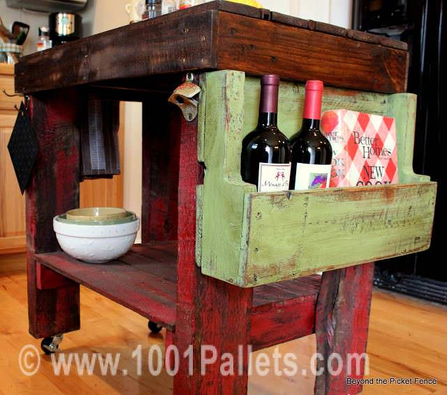 IMG 7518 Pallet island for your kitchen in kitchen furniture  with Kitchen Island