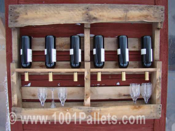 il 570xN.304327800 Pallet Wine Rack in pallet wall pallet kitchen  with Wine Rack Rack Pallets