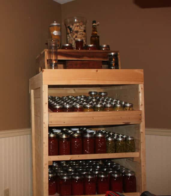 Canning Cabinet From Pallets Pallet Cabinets & Wardrobes