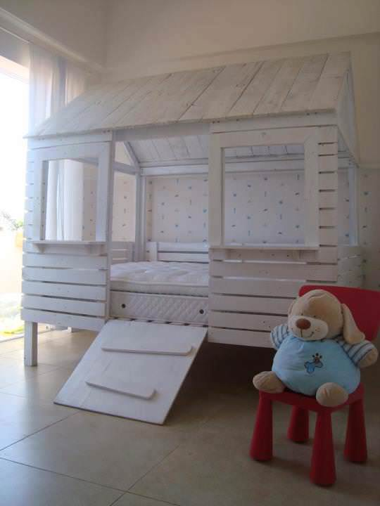 Child Bed Hut With Pallets O 1001