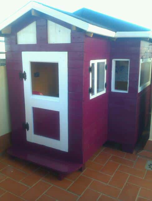 Little Pallets Playhouse Fun Pallet Crafts for Kids Pallet Sheds, Cabins, Huts & Playhouses