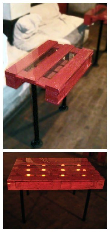 Nigth Club Pallet Tables