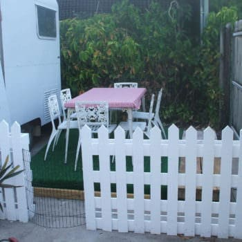 Pallets Picket Fence