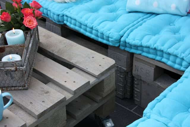 Terrace Lounge From Recycled Pallets Lounges & Garden Sets Pallet Terraces & Pallet Patios