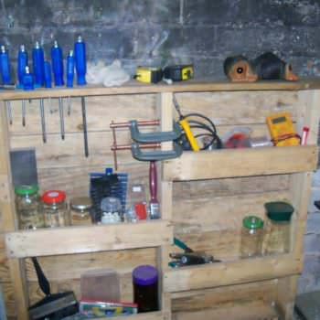 Workshop Tools Pallet Rack