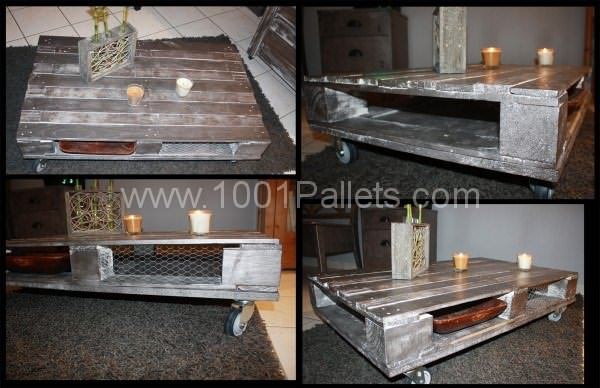 Recycling pallets at 100 1001 pallets - Transformer palette table basse ...