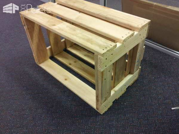 Crates From Upcycled Pallet Planks Pallet Boxes & Pallet Chests