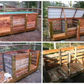 How to Make the Ultimate Compost Bin with Recycled Pallets