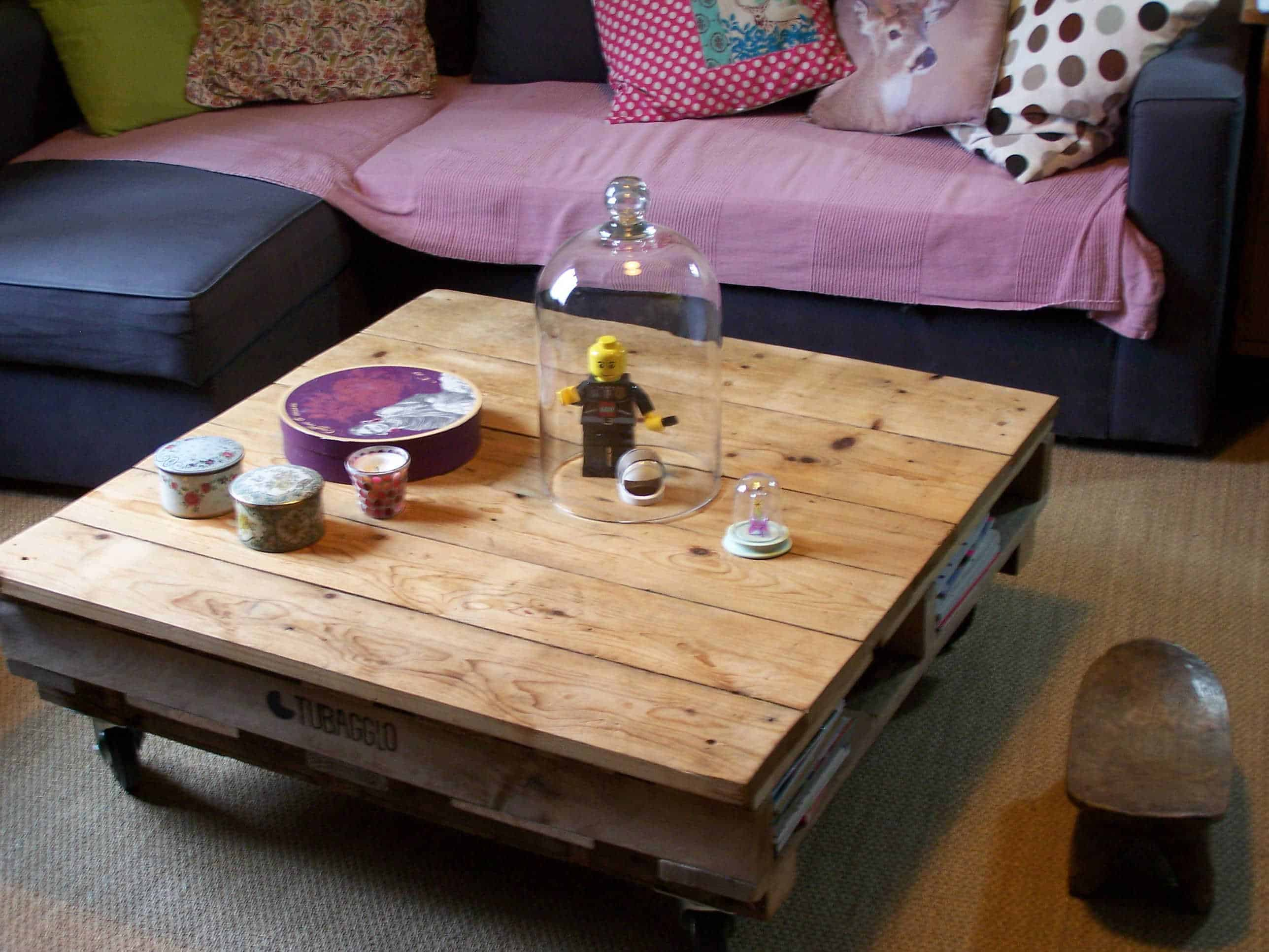 Living Room Pallet Coffee Table • 1001 Pallets