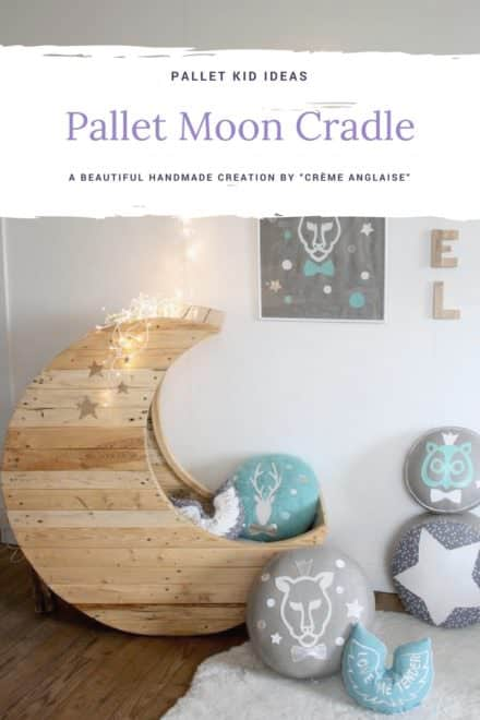 Moon Cradle Made Out of Wooden Pallets