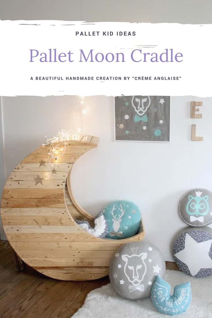 Moon Cradle Made Out of Wooden Pallets • 1001 Pallets
