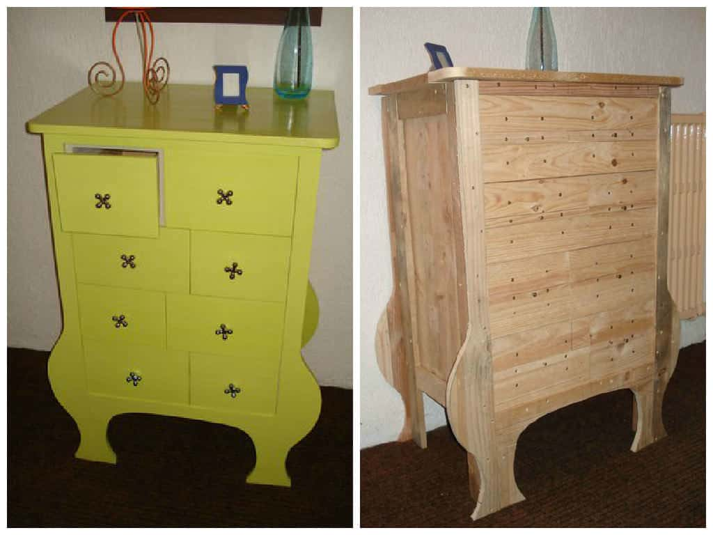 Pallet Chest Of Drawers 1001 Pallets