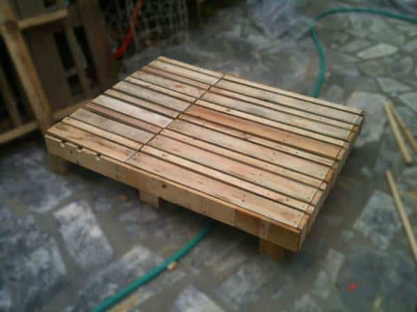 Pallet Double Lounge Chair Lounges & Garden Sets