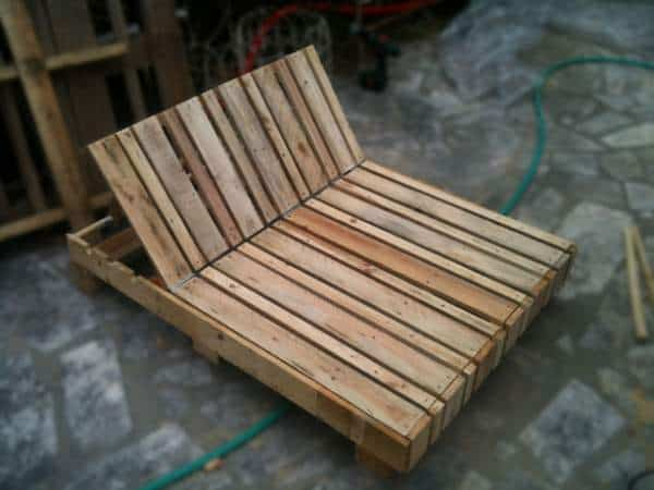Double Pallet Lounge Chair Lounges & Garden Sets