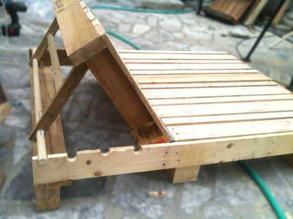 Double Pallet Lounge Chair 1001 Pallets
