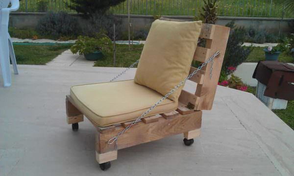Pallet Garden Chair Lounges & Garden SetsPallet Benches, Pallet Chairs & Stools