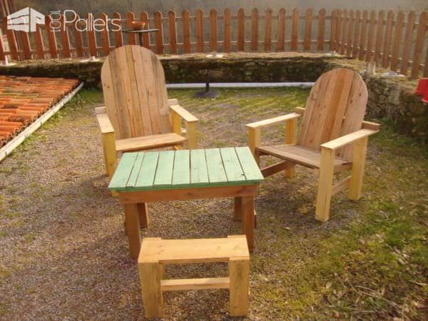 Pallet Garden Lounge Set Lounges & Garden Sets