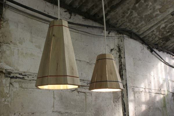 Pallet Pendant Shades Pallet Lamps & Lights