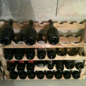 Pallet Wine Storage Rack