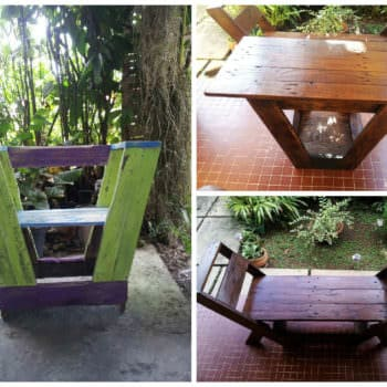 Pallets Chair & Bench