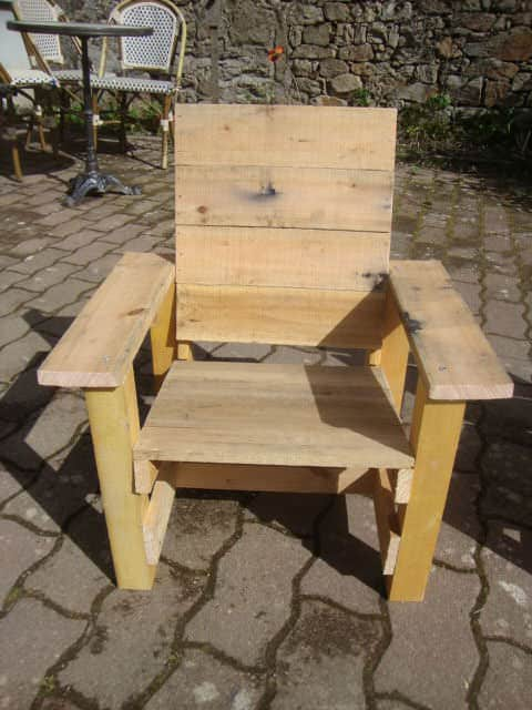 Pallets Garden Chair For Kids Fun Pallet Crafts for KidsPallet Benches, Pallet Chairs & Stools