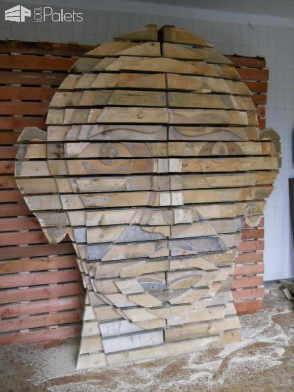 Pallets Head Pallet Home Accessories