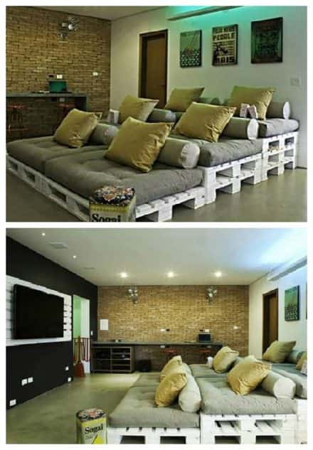 1001pallets.com-pallets-home-theater-seating-440x633 Pallet Home Theatre Furniture on pallet tv, pallet ideas, pallet wine rack directions, pallet bar, pallet room, pallet headboard, pallet accessories, pallet couch, pallet pool, pallet cooler, pallet theater chair, pallet entertainment, pallet toys,