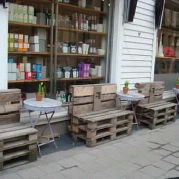 Pallets Street Installation in Kristiansand, Norway