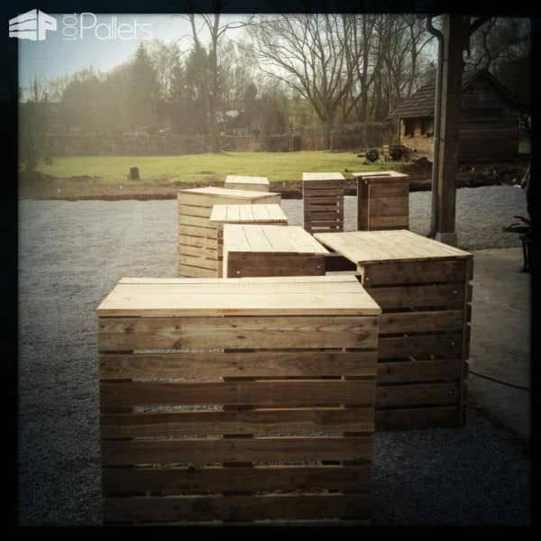 Recycled Pallets Bar DIY Pallet Bars