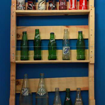 Rural Pop - Pallet Bottle Rack