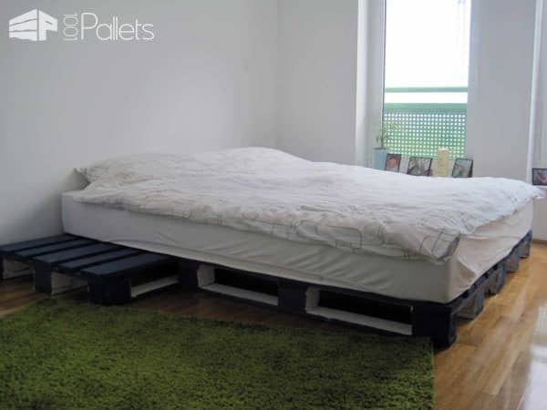 Simple Geeksters Pallet Bed Idea Beds & Headboards