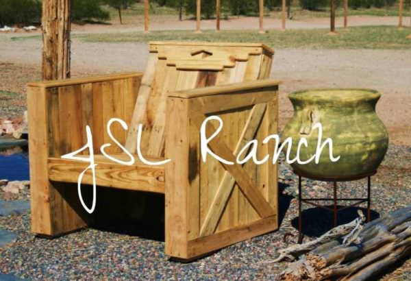 Southwestern Pallet Lounge Chair Pallet Benches, Pallet Chairs & Pallet Stools