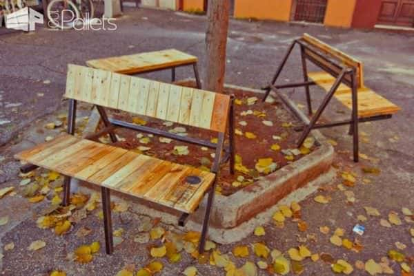 Studio Superfluo Pallet Rojects Pallet Benches, Pallet Chairs & Stools