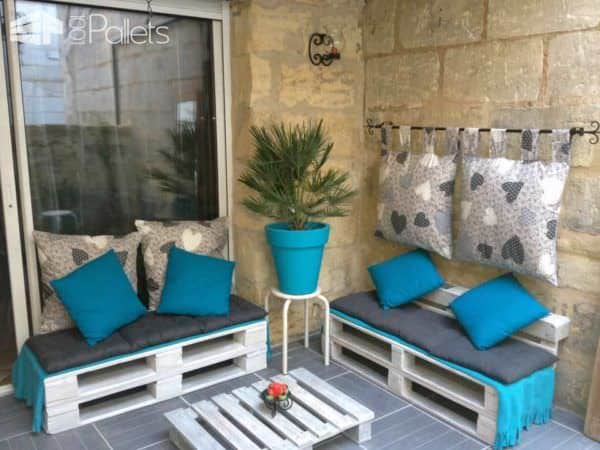 Creative Upcycled Pallet Corner Couch Pallet Sofas Pallet Terraces & Pallet Patios