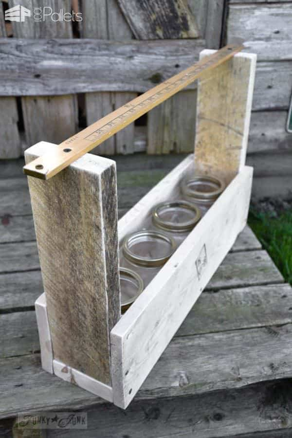 Diy Pallet Wood Tool Tote 1001 Pallets